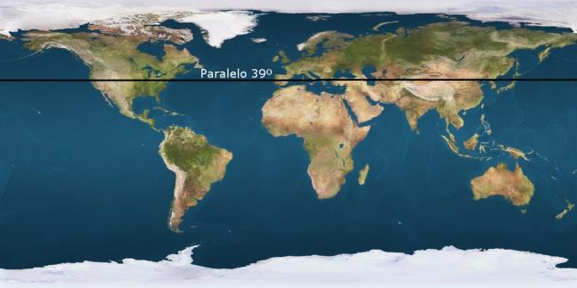 paralelo_39º